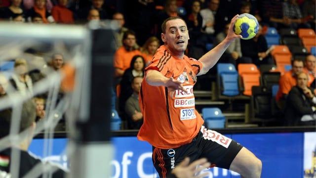 Aleksandar Stojanovic und die Kadetten Schaffhausen steigerten sich zuletzt stetig.