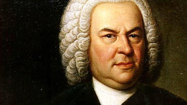 Gemälde: J.S.Bach, portraitiert von Elias Gottlob Haussmann