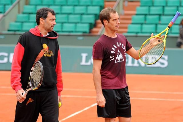 Sergi Bruguera und Richard Gasquet.