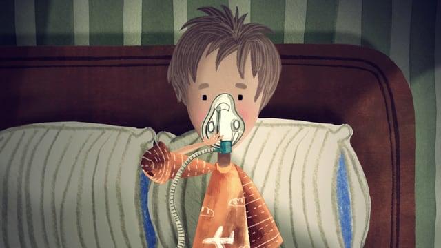 Video «Ich kann heute nicht in die Schule gehen: Mukoviszidose (4/5)» abspielen
