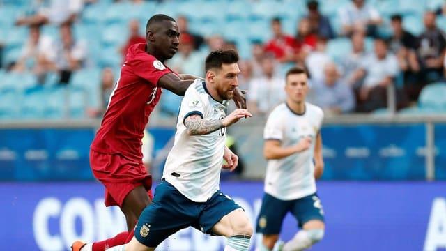 Argentinien atmet nach Sieg über Katar auf