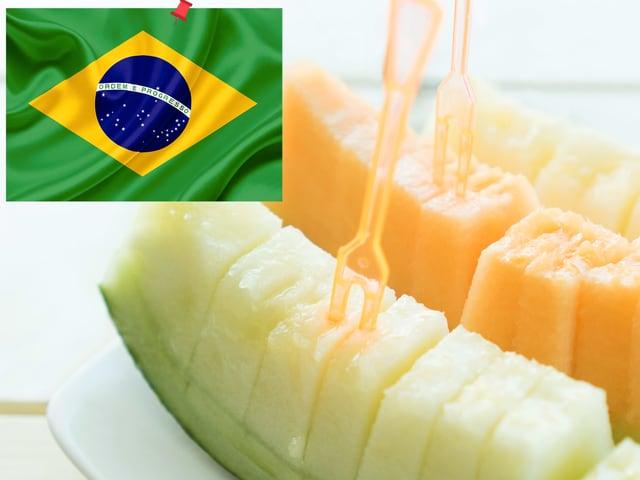 Melonen aus Brasilien