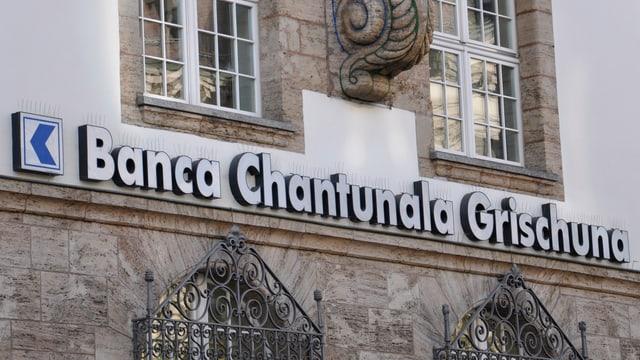 La Banca chantunala grischuna ha agens meds da 2,3 milliardas francs.