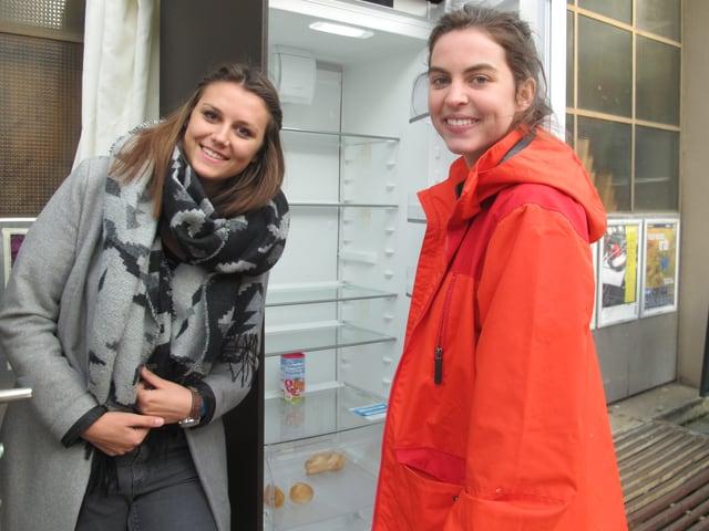 Ein leerer Kühlschrank: Kein schlechtes Zeichen, sagt Jana Huwyler