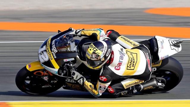 Tom Lüthi al Grond Premi da Valencia.