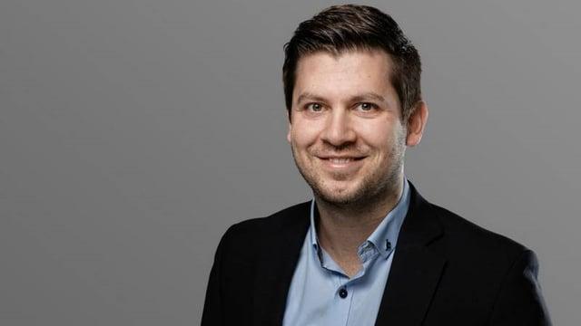 Portrait von Dominik Blunschy, dem neugewählten Schwyzer Kantonsrat