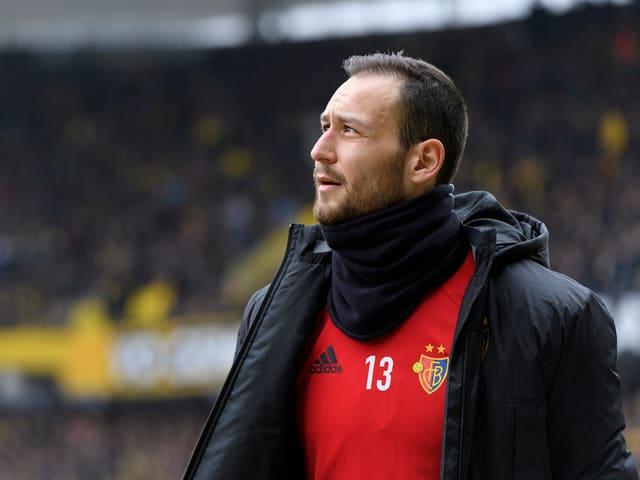 Mirko Salvi im FCB-Tenü.