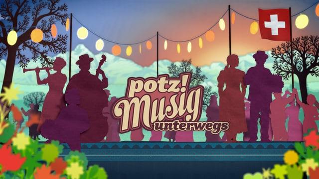 Video «Potzmusig unterwegs - 20 Jahre Radio SRF Musikwelle» abspielen