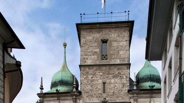 Ansicht des historischen Gebäudes