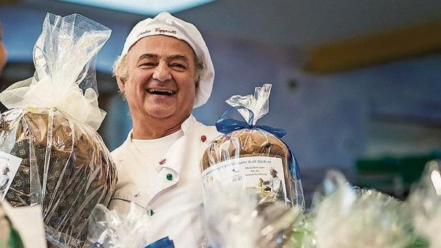 Pietro Cappelli preisgekrönter und mehrfach ausgezeichneter Panettone-Bäcker aus St. Gallen.
