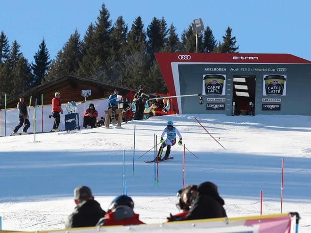 Skirennen in Adelboden