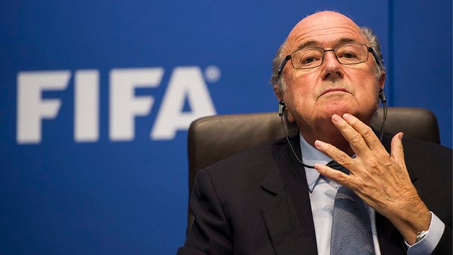 Il president da la FIFA Sepp Blatter.