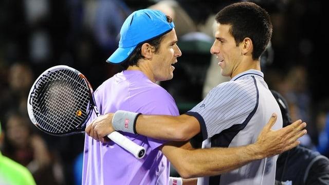 Tommy Haas schlug Novak Djokovic in Miami souverän in 2 Sätzen.
