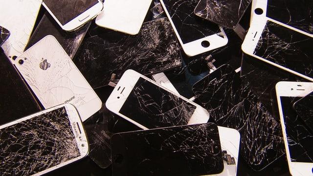 Kaputte Smartphone