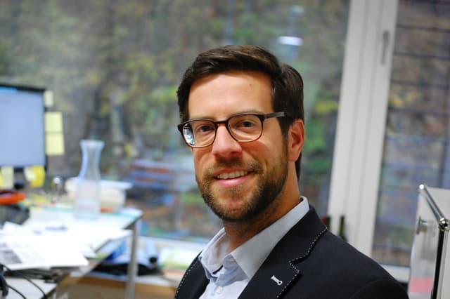 Politologe Maximilian Schubiger
