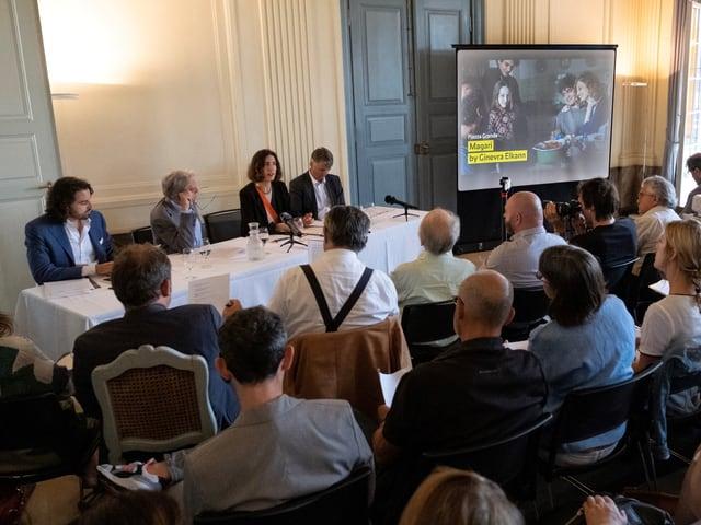 Conferenza da medias a Berna per la 72avla ediziun dal Locarno Festival.