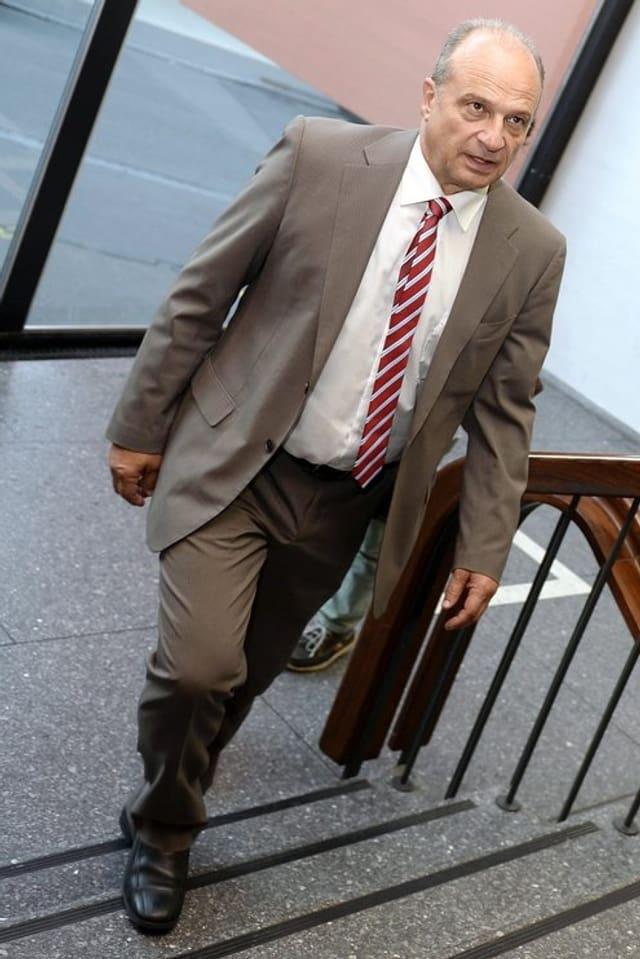 Filippo Leutenegger (FDP) Zürcher Stadtrat und neuer Tiefbauvorsteher