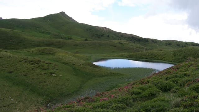 Das Gebiet Panüöl in den Flumserbergen.