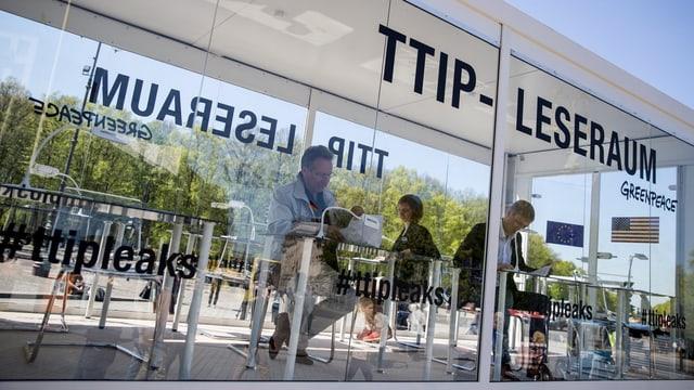 TTIP-Dokumente.