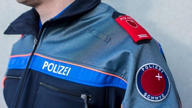 Polizist in Uniform.