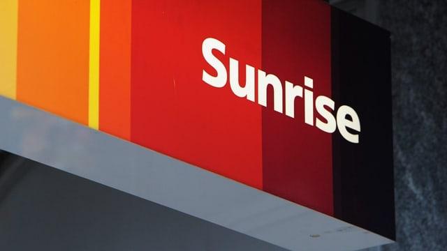 Das Sunrise-Logo.
