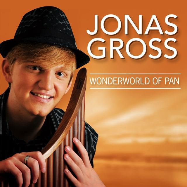 CD-Cover zu «Wonderworld of Pan», dem Debüt-Album von Jonas Gross.