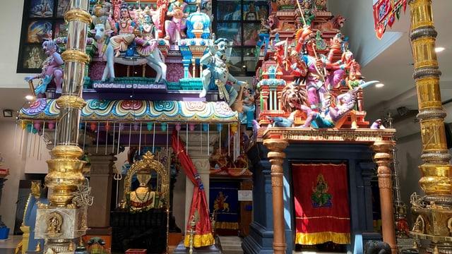 Sevvel im Tempel