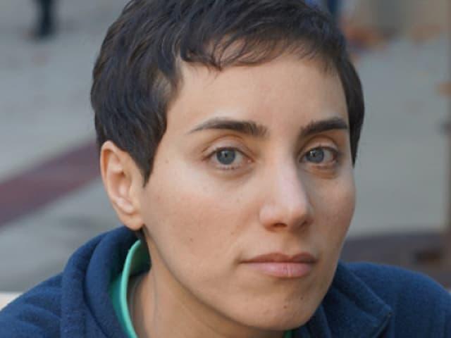 Maryam Mirzakhani im Porträtfoto