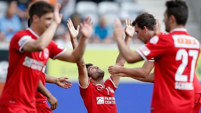 Die Thuner starten ambitioniert in ihre erste Saison in der Europa League.