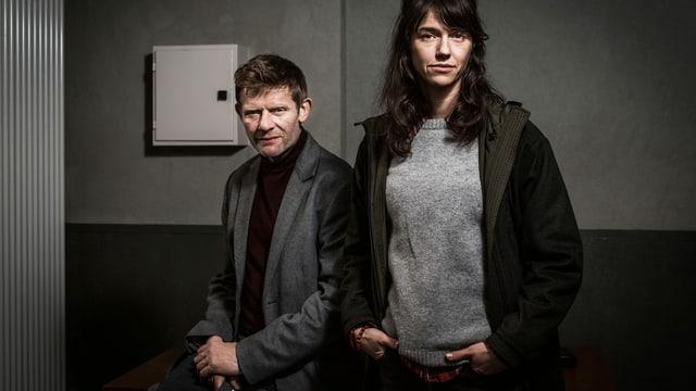Sarah Spale spielt in der SRF-Serie «Wilder» Kantonspolizistin Rosa Wilder. Sie ermittelt zusammen mit Marcus Signer in der Rolle als Bundeskriminalbeamter Manfred Kägi.