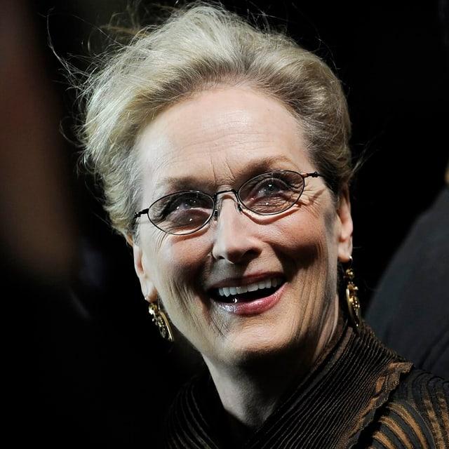 Meryl Streep lächelnd