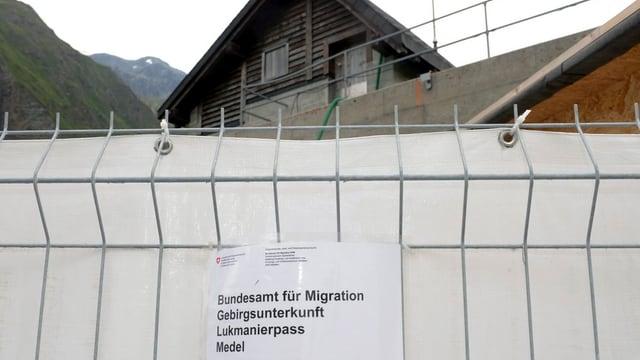 Asylunterkunft Medel