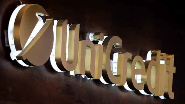 Logo da Unicredit.