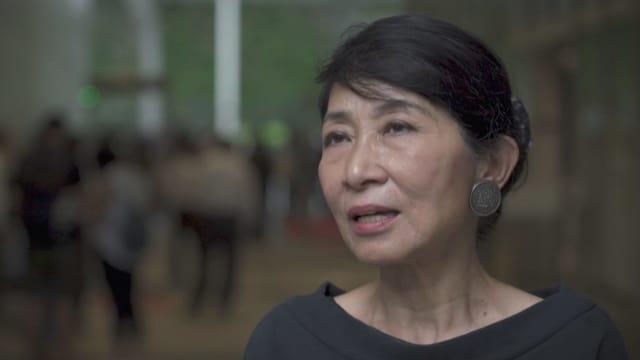 Claudia Mo, pro-demokratische Parlamentarierin im Legislativrat Hongkong
