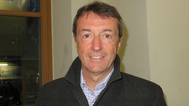 Porträt von Urs Zenhäusern, Direktor des Zentralverbandes ZMLP.