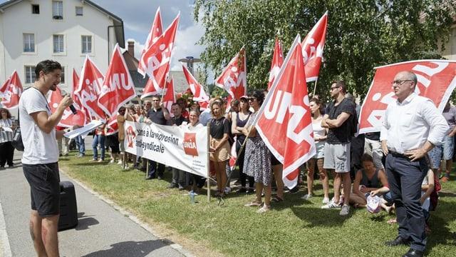 Streik in der Westschweiz