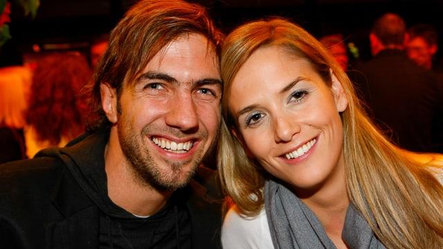 Manu Burkart und Michèle Merkli