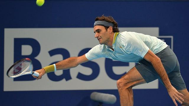 Findet Roger Federer gegen Denis Istomin den Tritt bei seinem Heimturnier?