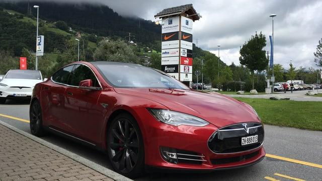 Il nov modell dal Tesla en cotschen stgir.