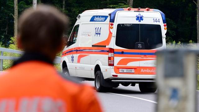 In'ambulanza.