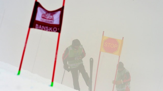 Der Nebel liess kein reguläres und sicheres Rennen zu.