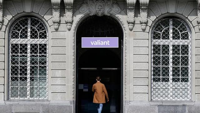 Bild des Eingangs