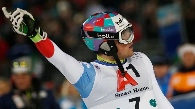 Daniel Yule ha confermà sia buna furma a Schladming.