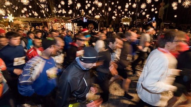 Läufer am Basler Stadtlauf