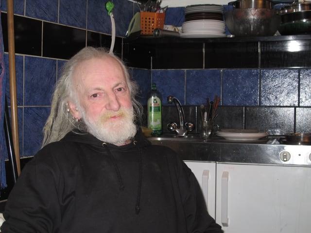 Mario Stegmann in der Küche des Sleepers: Er gehört zum Gründer-Team.