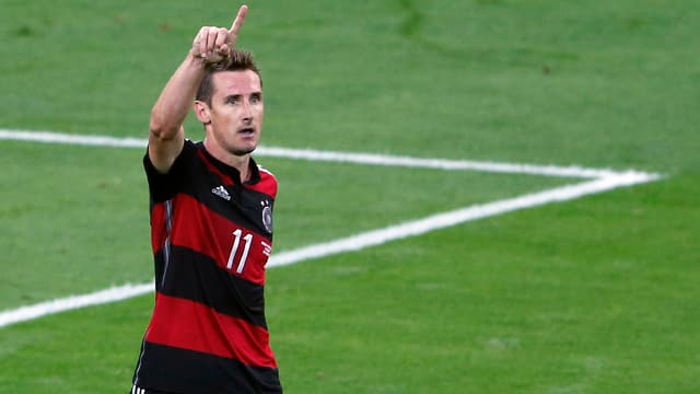 Miroslav Klose an der WM in Brasilien.