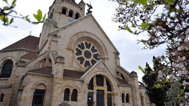 Die Pauluskirche in Basel.