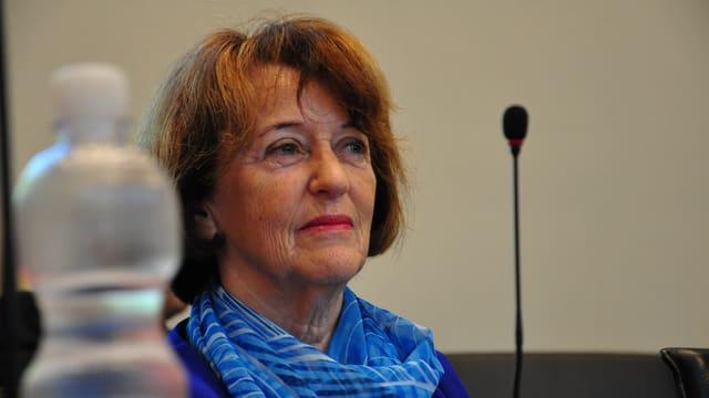 Il maletg mussa la deputada Nicoletta Noi-Togni