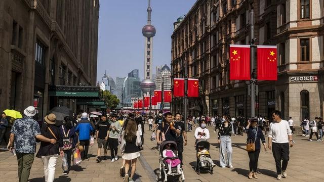 Zu sehen Shanghai.