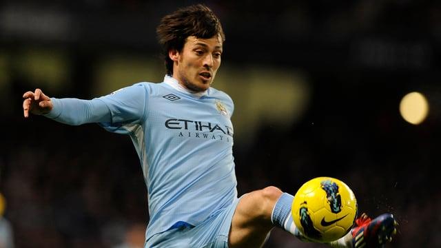 Einer von vier Spaniern im Trikot des Premier-League-Dritten aus Manchester.